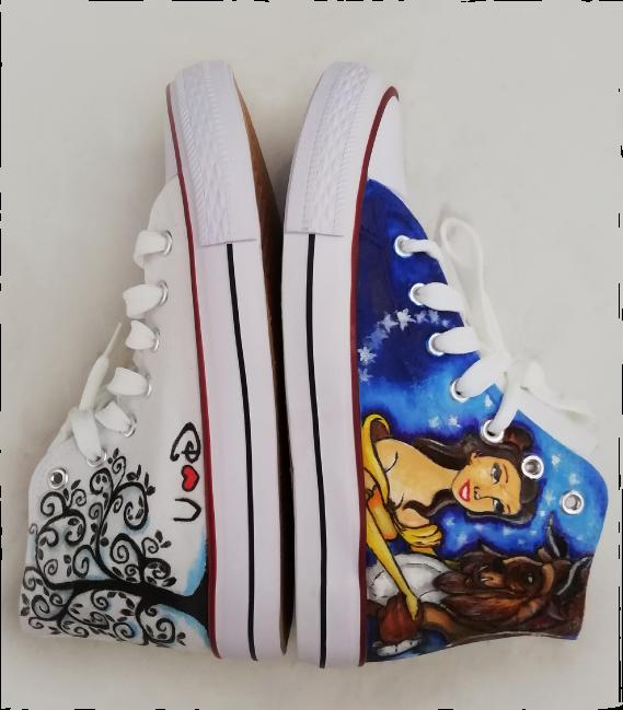 scarpe-personalizzate-la-bella-e-la-bestia