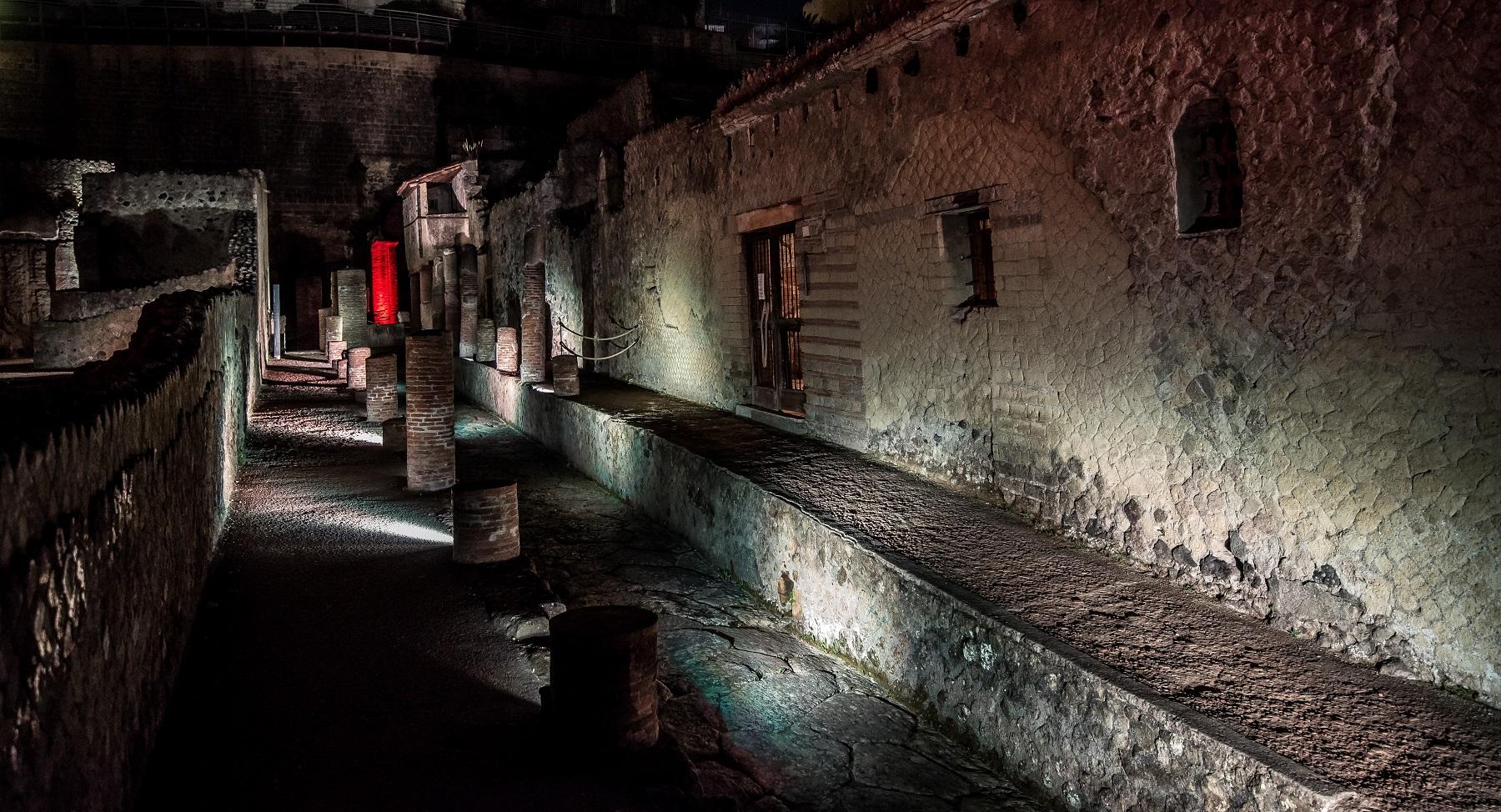 Ferragosto al Parco Archeologico di Ercolano