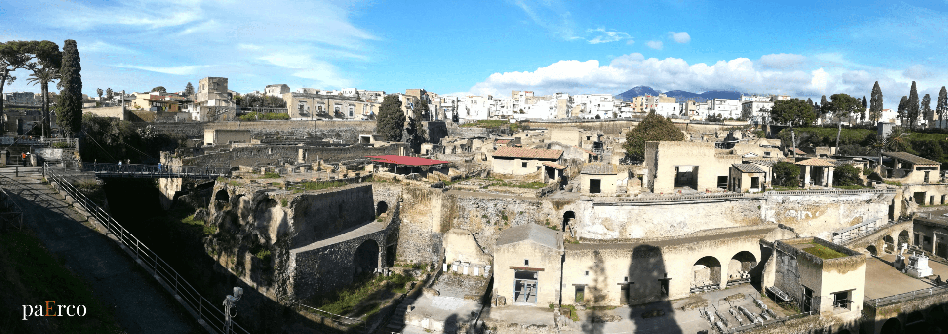 Parco Archeologico di Ercolano - Vista Panoramica