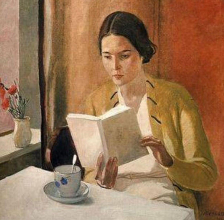 Alexander Deineka - Donna che legge