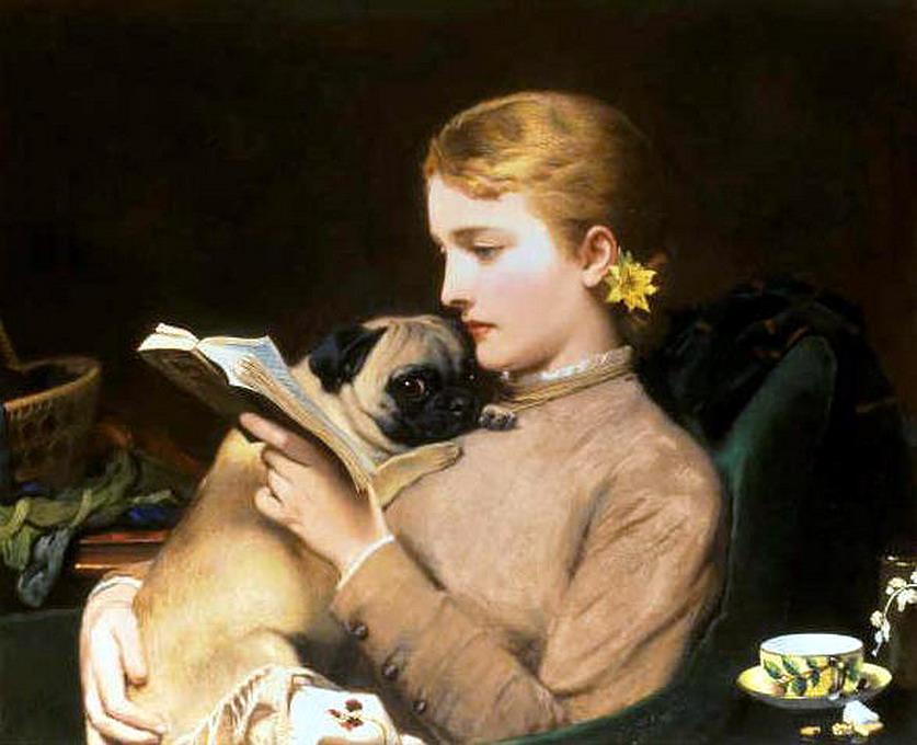 Charles Burton Barber - La lettrice