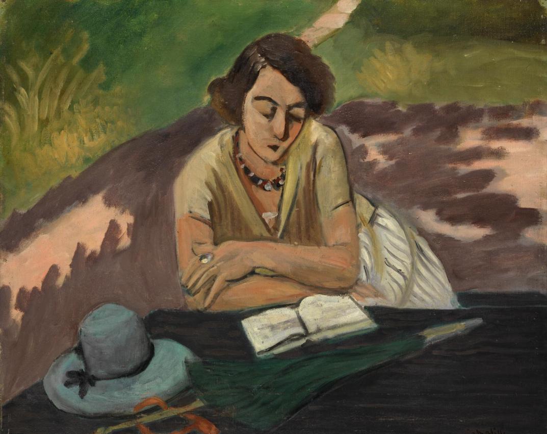 Henri Matisse - La lettrice