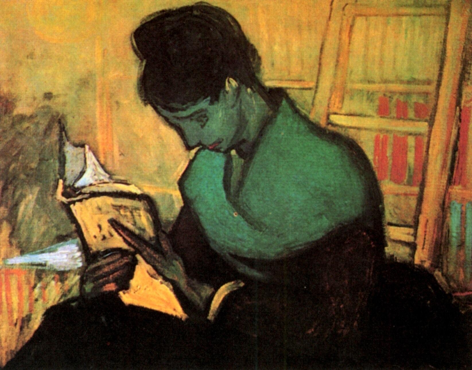 Vincent Van Gogh - La lettrice di romanzi